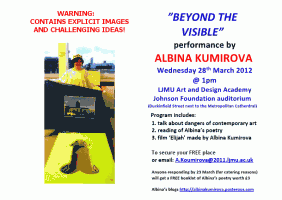 LJMU: Beyond the Visible – ALBINA KUMIROVA