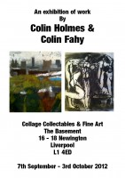 Collage Collectables & Fine Art: An exhibition of work by Colin Holmes & Colin Fahy