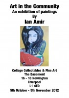 Collage Collectables and Fine Art: Ian Amir
