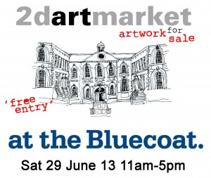 2D Art Market at The Bluecoat