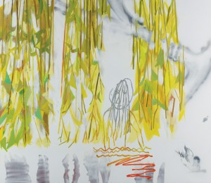 Sarah Pickstone's (JMPP2012 winner) 'Stevie Smith and the Willow'.