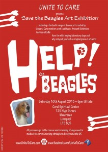 help beagles poster