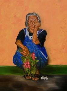 The-Parga-Flower-Seller