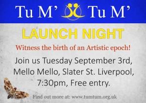 Tumtum Launch Invite