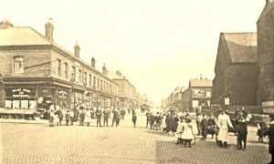 Beresford Road at Bessamer street and St.Cleopas  c1890