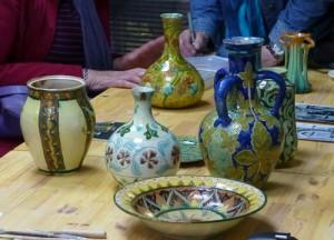 Della Robbia pottery in the Rathbone Studio