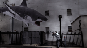 Still from Sharknado