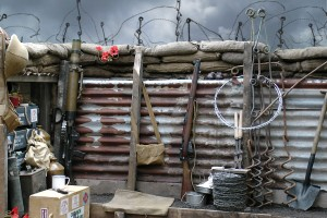 A reconstructed trench