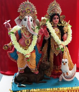 Ganesh and Lakshmi, courtesy Patrick M Higgins Photography
