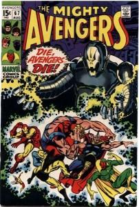 Avengers #67 Die, Avengers, Die
