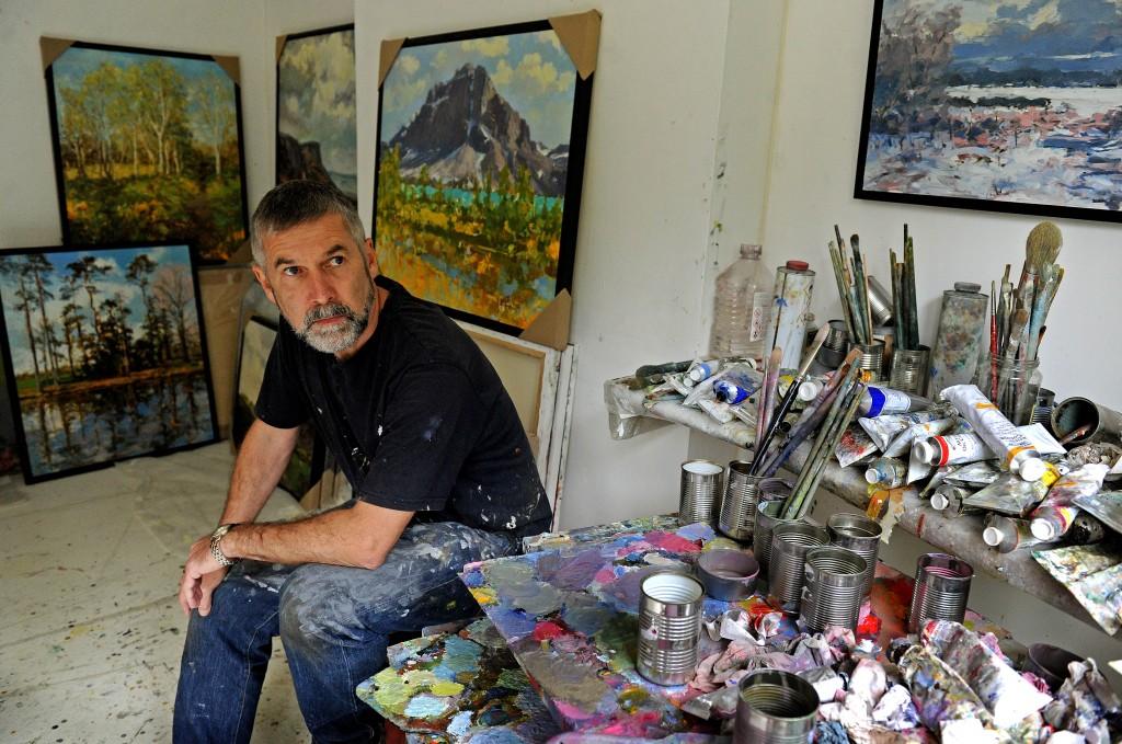 Artist Sean Mccann On A Journey Through Landscape