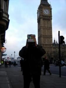 Peace box in London
