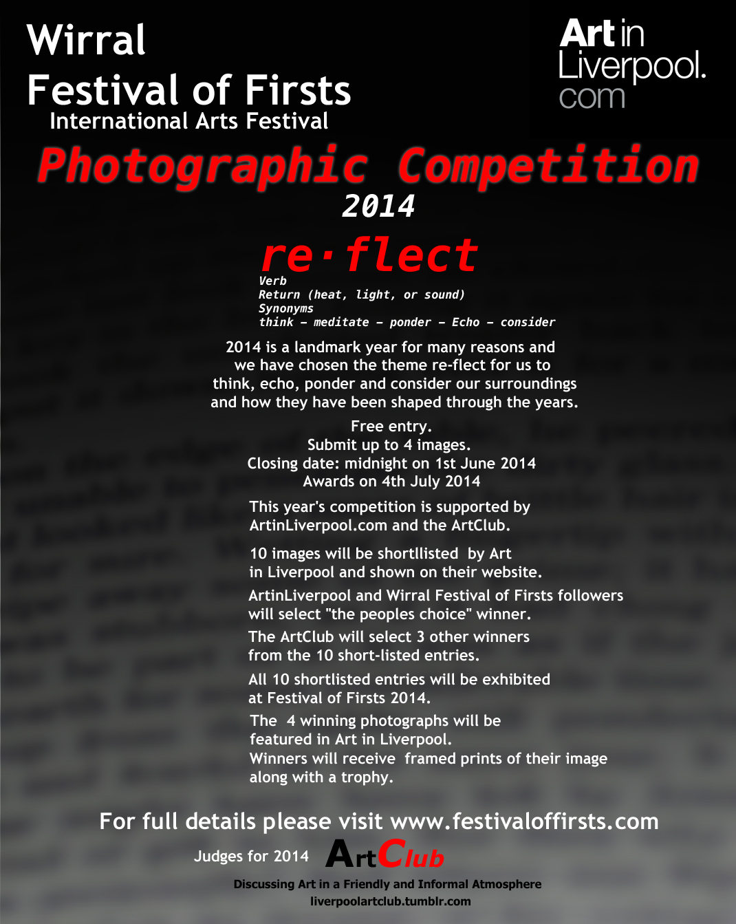 Festival of Firsts: Photography Competition