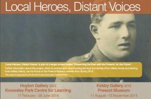 Huyton Gallery & Knowsley Park Centre for Learning: Local Heroes, Distant Voices
