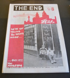 The End Vol 8, 1981-1989. A4 paper magazines. With thanks to staff of The End