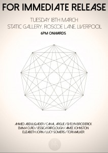 Static Gallery: LJMU Pop-Up Exhibition
