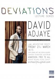 LJMU: David Adjaye Lecture