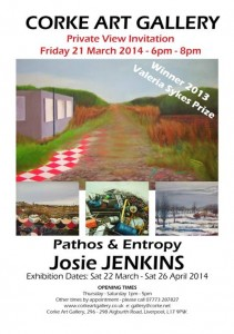 Corke Gallery: Pathos and Entropy – Josie Jenkins