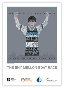 Connell Makepeace Wins BNY Mellon's Design a 160th Anniversary Boat Race Poster Competition