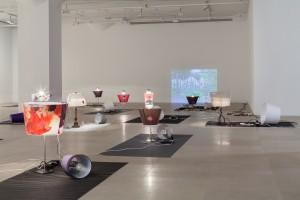 Josef Strau, Exercises, 2013 (installation) Courtesy of the artist and Greene Naftali, New York. Photograph: Jason Mandella