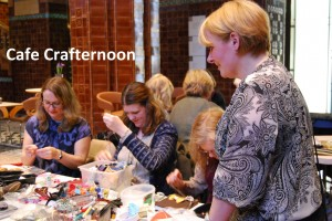 VGM Cafe Crafternoon stock image