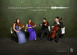 Heart Variations for String Quartet
