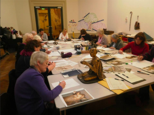 Art classes at the Williamson Art Gallery