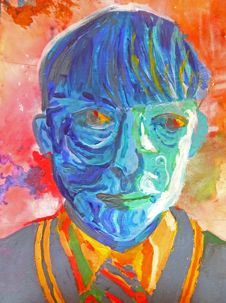 Self Portrait by Daniel Canning