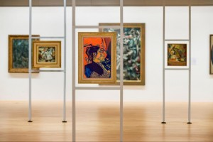 Snapshot from the Matisse constellation, focussing on Henri Gaudier-Brzeska's Sophie Brzeska 1913 at Tate Liverpool
