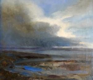 High-Tide-Parkgate-2014-oil-on-canvas-22x19cm-325x280