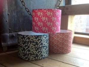 90Squared: Liberty Fabric Lampshade Workshop