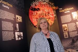 Curator Karen O'Rourke