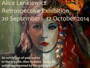 The Art Gallery: A Retrospective Exhibition by Alice Lenkiewicz