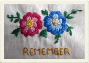Liverpool Central Library: Posting to the Past – Embroidery Exhibition