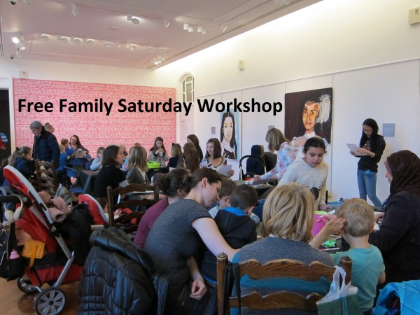 Victoria Gallery: Christmas Family Workshop