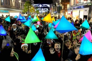 the Bluecoat: Lantern Workshops with Liverpool One