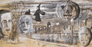 Art For Macmillan: Drawing and Painting for Halloween