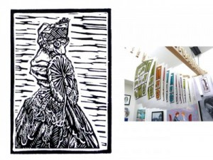 Experience: Lino-print Workshop at the Bluecoat Display Centre