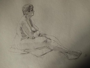 the Reader, Calderstones Park: Tutored Life Drawing Class