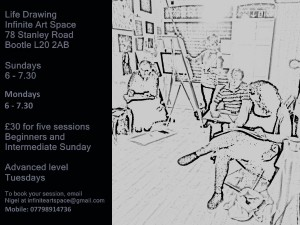 Infinite Art Space: Life Drawing
