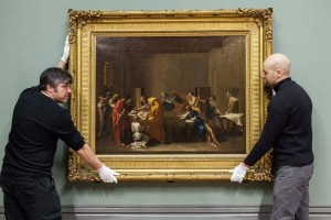 Installing a Poussin Masterpiece at the Walker Art Gallery