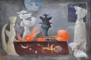 """If I could be painting, any painting, I'd be a Leonora Carrington"""
