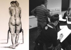 the Bluecoat: Life Drawing