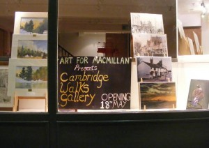 Macmillan Exhibition: Cambridge Walks, Southport
