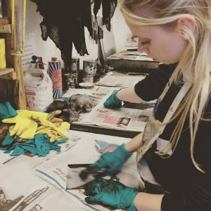 the Bluecoat: Introduction to Etching