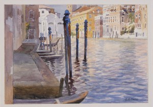 Venetian Canal (around 1926), A B Waller ∏ National Museums Liverpool
