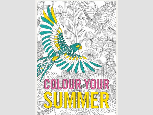Adult Colouring With Letraset