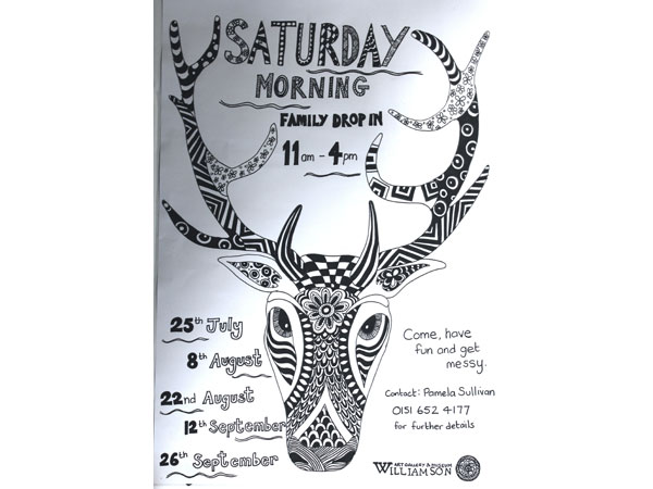 Saturday Morning Family Drop in Workshops