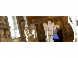Sketching in the Sculpture Gallery