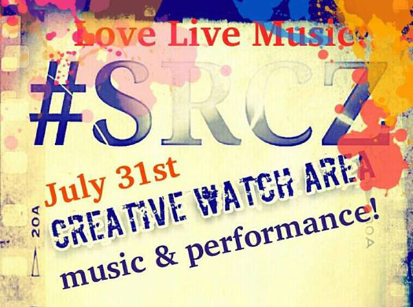 #SRCZ Live: Creative Watch Area